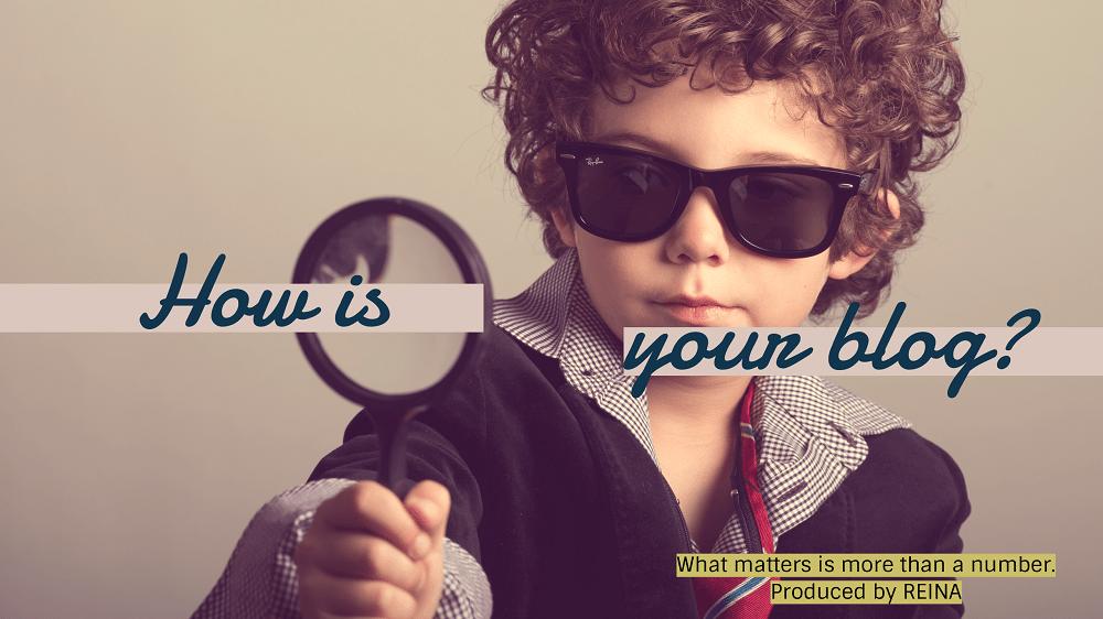 虫眼鏡で見る子ども あなたのブログはどう?